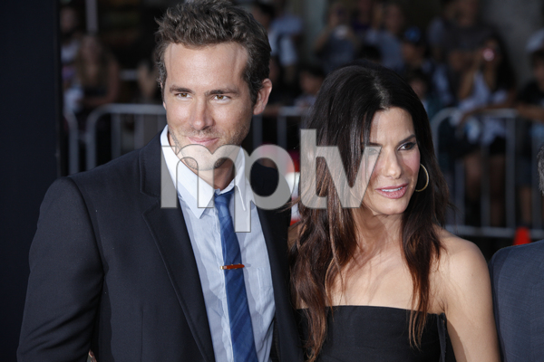 """""""The Change-Up"""" Premiere Ryan Reynolds, Sandra Bullock8-1-2011 / Village Theater / Westwood CA / Universal Pictures / Photo by Imeh Akpanudosen - Image 24087_0152"""