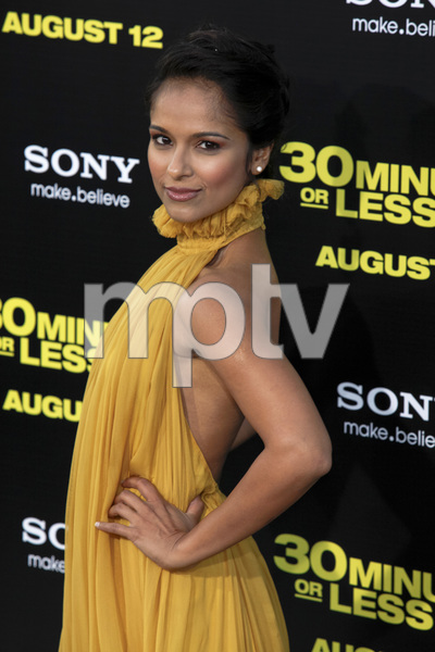 """""""30 Minutes or Less"""" Premiere Dilshad Vadsaria8-8-2011 / Grauman"""