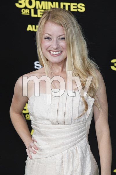 """30 Minutes or Less"" Premiere Christie Brooke8-8-2011 / Grauman"