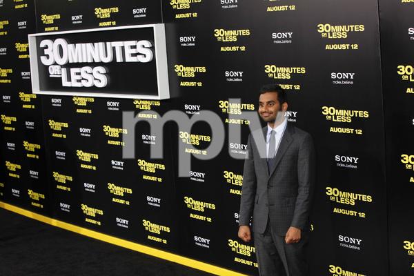 """30 Minutes or Less"" Premiere Aziz Ansari8-8-2011 / Grauman"