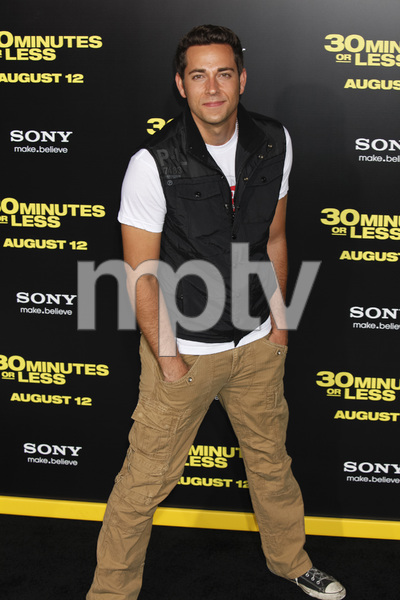 """30 Minutes or Less"" Premiere Zachary Levi8-8-2011 / Grauman"