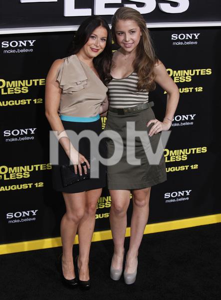 """30 Minutes or Less"" Premiere Alexa Vega, Mackenzie Vega8-8-2011 / Grauman"