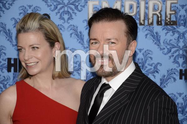 """Boardwalk Empire"" Premiere Ricky Gervais, Jane Fallon9-14-2011 / Ziegfeld Theater / New York NY / HBO / Photo by Eric Reichbaum - Image 24095_0023"