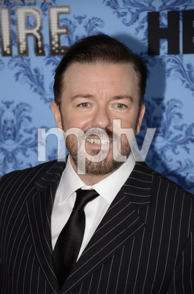 """Boardwalk Empire"" Premiere Ricky Gervais, Jane Fallon9-14-2011 / Ziegfeld Theater / New York NY / HBO / Photo by Eric Reichbaum - Image 24095_0030"