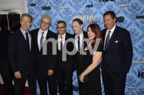 """Boardwalk Empire"" Premiere Jo Andres, Steve Buscemi9-14-2011 / Ziegfeld Theater / New York NY / HBO / Photo by Eric Reichbaum - Image 24095_0066"
