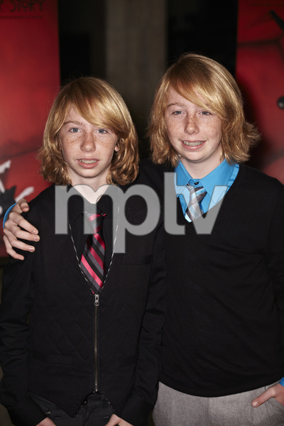 """American Horror Story"" Premiere Kai Schulz, Bodhi Schulz9-3-2011 / Cinerama Dome / Hollywood CA / FX / Photo by Benny Haddad - Image 24116_0017"