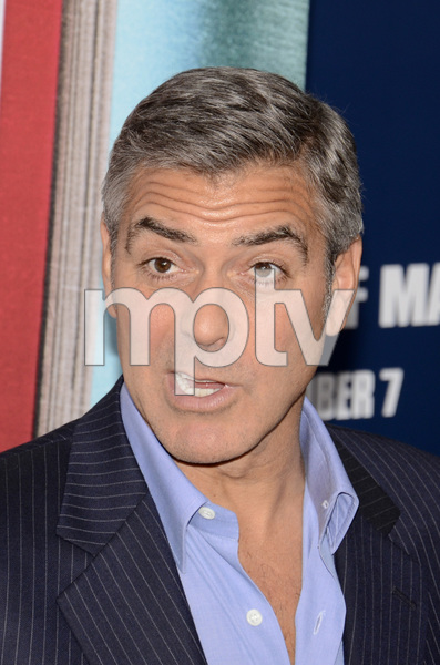 """""""The Ides of March"""" Premiere George Clooney10-5-2011 / Ziegfeld Theater / New York NY / Sony Pictures / Photo by Eric Reichbaum - Image 24118_0019"""