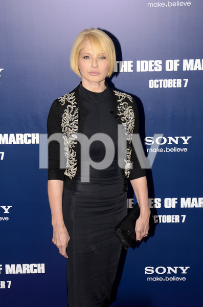 """""""The Ides of March"""" Premiere Ellen Barkin10-5-2011 / Ziegfeld Theater / New York NY / Sony Pictures / Photo by Eric Reichbaum - Image 24118_0035"""
