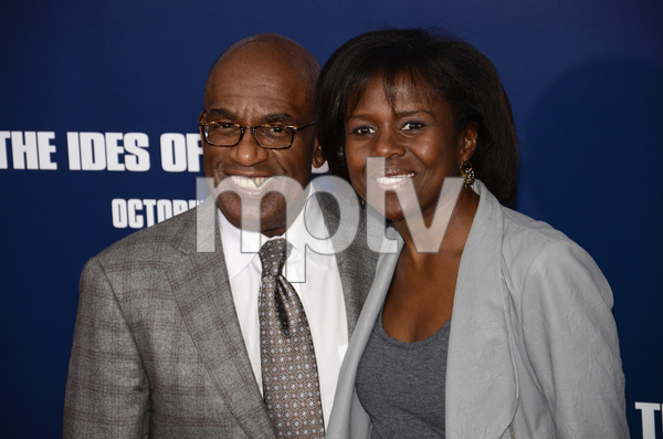 """The Ides of March"" Premiere Al Roker and Deborah Roberts10-5-2011 / Ziegfeld Theater / New York NY / Sony Pictures / Photo by Eric Reichbaum - Image 24118_0119"