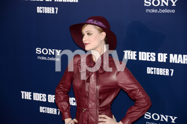 """""""The Ides of March"""" Premiere Evan Rachel Wood10-5-2011 / Ziegfeld Theater / New York NY / Sony Pictures / Photo by Eric Reichbaum - Image 24118_0123"""