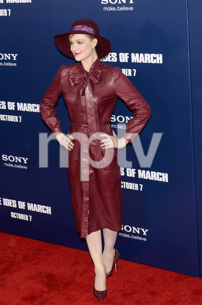 """""""The Ides of March"""" Premiere Evan Rachel Wood10-5-2011 / Ziegfeld Theater / New York NY / Sony Pictures / Photo by Eric Reichbaum - Image 24118_0126"""