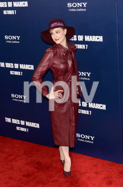 """""""The Ides of March"""" Premiere Evan Rachel Wood10-5-2011 / Ziegfeld Theater / New York NY / Sony Pictures / Photo by Eric Reichbaum - Image 24118_0127"""