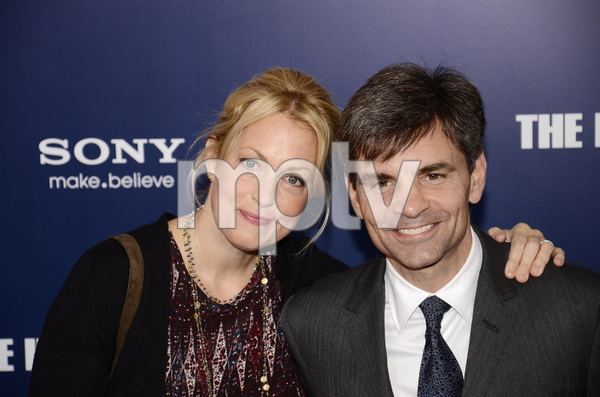 """""""The Ides of March"""" Premiere Alexandra Wentworth and George Stephanopoulos 10-5-2011 / Ziegfeld Theater / New York NY / Sony Pictures / Photo by Eric Reichbaum - Image 24118_0145"""