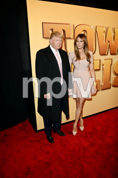 """Tower Heist"" PremiereDonald Trump, Melania Trump10-24-2011 / Ziegfeld Theater / New York NY / Universal Studios / Photo by Eric Reichbaum - Image 24125_119"