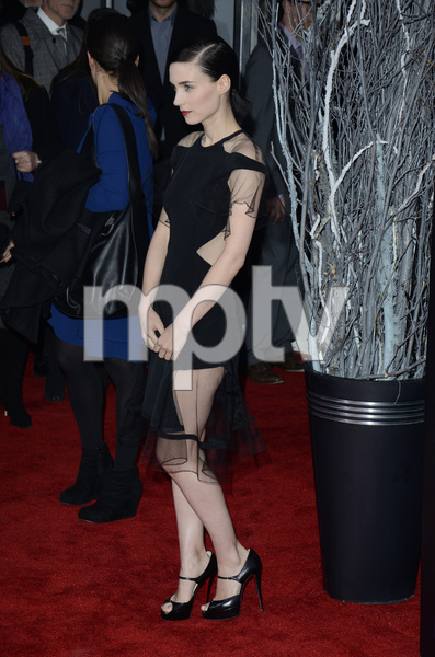 """""""The Girl with the Dragon Tattoo"""" Premiere Rooney Mara12-14-2011 / Ziegfeld Theater / New York NY / Sony Pictures / Photo by Eric Reichbaum - Image 24142_0151"""
