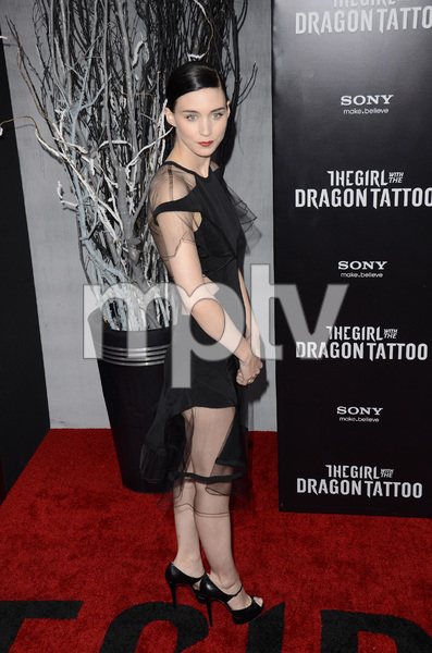 """""""The Girl with the Dragon Tattoo"""" Premiere Rooney Mara12-14-2011 / Ziegfeld Theater / New York NY / Sony Pictures / Photo by Eric Reichbaum - Image 24142_0167"""