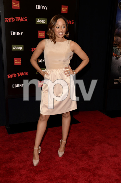 """Red Tails"" Premiere Tia Mowry1-10-2012 / Ziegfeld Theater / New York NY / Twentieth Century Fox / Photo by Eric Reichbaum - Image 24144_0153"
