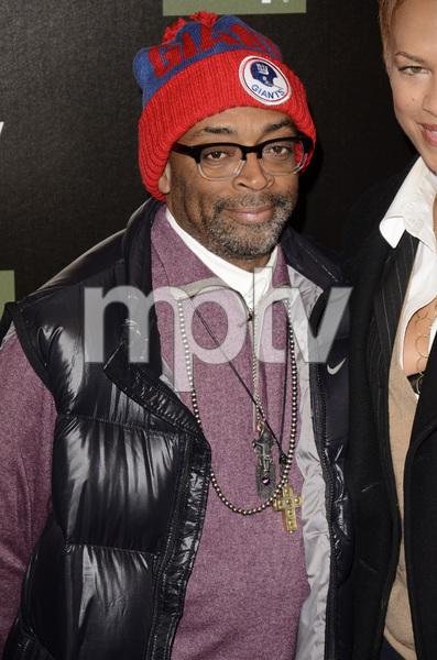 """Red Tails"" Premiere Spike Lee and Tonya Lewis Lee1-10-2012 / Ziegfeld Theater / New York NY / Twentieth Century Fox / Photo by Eric Reichbaum - Image 24144_0218"