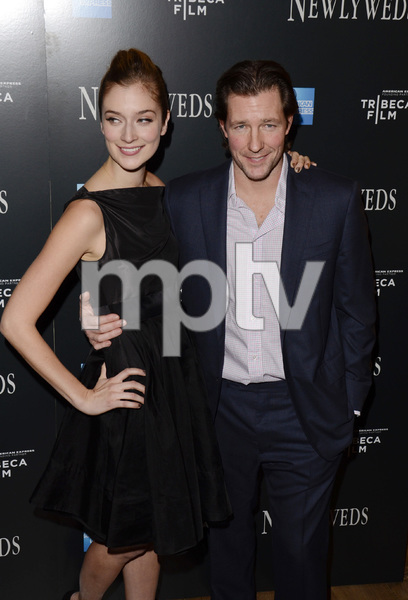 """Newlyweds"" Premiere Caitlin Fitzgerald, Edward Burns1-11-2012 / Crosby Street Hotel / New York NY / Tribeca Film / Photo by Eric Reichbaum - Image 24148_0003"