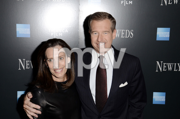 """Newlyweds"" Premiere Brian Williams and Jane Williams1-11-2012 / Crobsy Street Hotel / New York NY / Tribeca Film / Photo by Eric Reichbaum - Image 24148_0160"