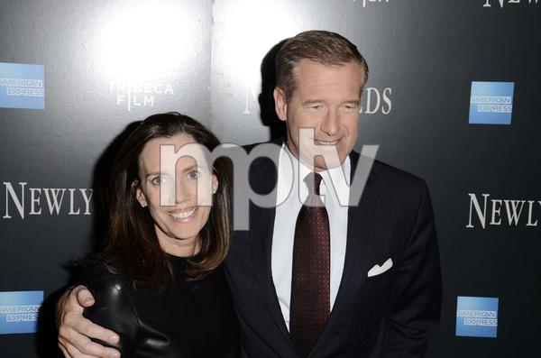 """Newlyweds"" Premiere Brian Williams and Jane Williams1-11-2012 / Crobsy Street Hotel / New York NY / Tribeca Film / Photo by Eric Reichbaum - Image 24148_0163"