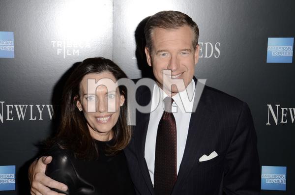 """Newlyweds"" Premiere Brian Williams and Jane Williams1-11-2012 / Crobsy Street Hotel / New York NY / Tribeca Film / Photo by Eric Reichbaum - Image 24148_0169"