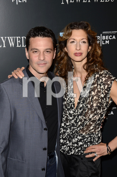 """Newlyweds"" Premiere David Alan Basche and Alysia Reiner1-11-2012 / Crosby Street Hotel / New York NY / Tribeca Film / Photo by Eric Reichbaum - Image 24148_0201"