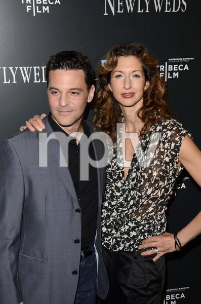 """Newlyweds"" Premiere David Alan Basche and Alysia Reiner1-11-2012 / Crosby Street Hotel / New York NY / Tribeca Film / Photo by Eric Reichbaum - Image 24148_0204"