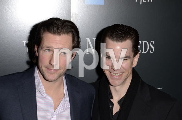 """Newlyweds"" Premiere Ed Burns and Michael McGlone1-11-2012 / Crosby Street Hotel / New York NY / Tribeca Film / Photo by Eric Reichbaum - Image 24148_0246"