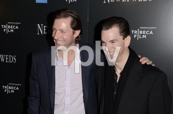 """Newlyweds"" Premiere Ed Burns and Michael McGlone1-11-2012 / Crosby Street Hotel / New York NY / Tribeca Film / Photo by Eric Reichbaum - Image 24148_0248"