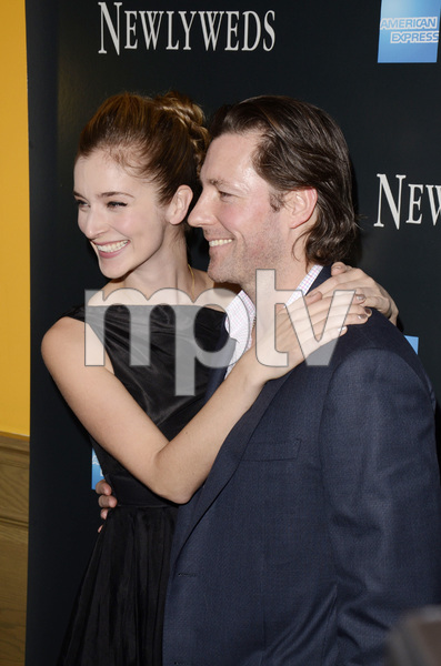 """""""Newlyweds"""" Premiere Caitlin Fitzgerald and Ed Burns1-11-2012 / Crosby Street Hotel / New York NY / Tribeca Film / Photo by Eric Reichbaum - Image 24148_0260"""