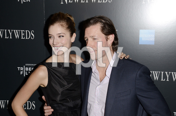 """Newlyweds"" Premiere Caitlin Fitzgerald and Ed Burns1-11-2012 / Crosby Street Hotel / New York NY / Tribeca Film / Photo by Eric Reichbaum - Image 24148_0270"