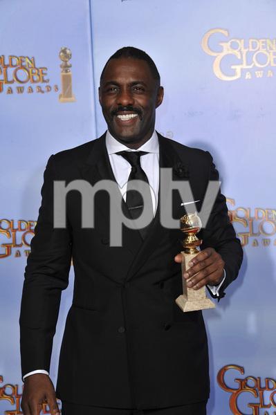 """The Golden Globe Awards - 69th Annual"" (Press Room) Idris Elba1-15-2012 © 2012 Jean Cummings - Image 24150_0048"