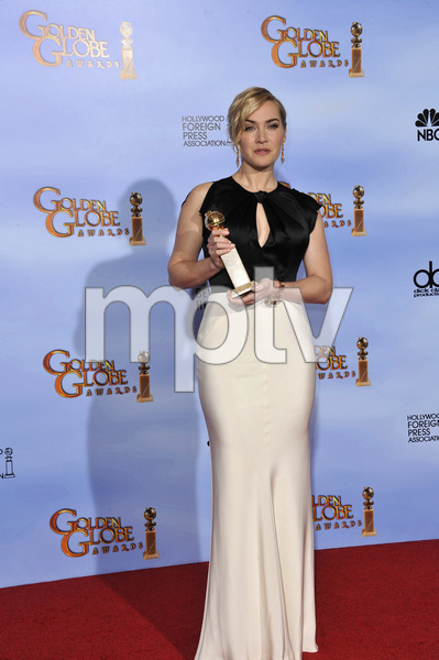 """""""The Golden Globe Awards - 69th Annual"""" (Press Room) Kate Winslet1-15-2012 © 2012 Jean Cummings - Image 24150_0077"""
