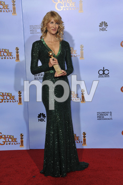 """The Golden Globe Awards - 69th Annual"" (Press Room) Laura Dern1-15-2012 © 2012 Jean Cummings - Image 24150_0084"