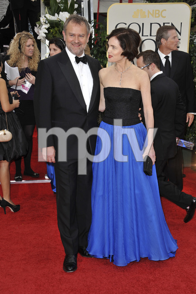 """The Golden Globe Awards - 69th Annual"" (Arrivals) Hugh Bonneville, Elizabeth McGovern1-15-2012 © 2012 Jean Cummings - Image 24150_0252"