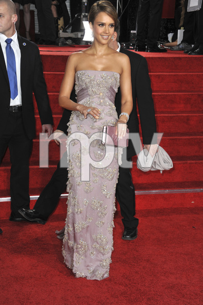 """The Golden Globe Awards - 69th Annual"" (Arrivals) Jessica Alba1-15-2012 © 2012 Jean Cummings - Image 24150_0265"