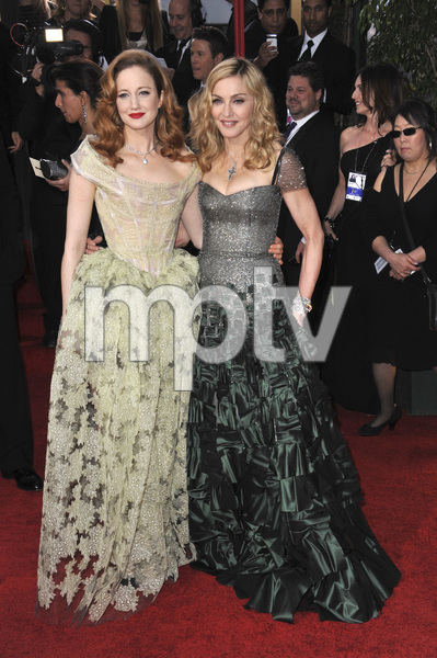 """The Golden Globe Awards - 69th Annual"" (Arrivals) Madonna, Andrea Riseborough1-15-2012 © 2012 Jean Cummings - Image 24150_0333"