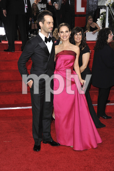 """The Golden Globe Awards - 69th Annual"" (Arrivals) Benjamin Millepied, Natalie Portman1-15-2012 © 2012 Jean Cummings - Image 24150_0378"