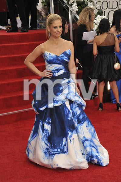 """The Golden Globe Awards - 69th Annual"" (Arrivals) Sarah Michelle Gellar1-15-2012 © 2012 Jean Cummings - Image 24150_0400"