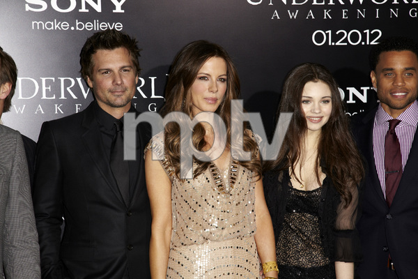 """Underworld Awakening"" Kate Beckinsale, India Eisley, Len Wiseman1-19-2012 / Grauman"