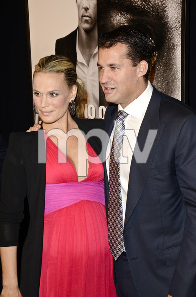 """""""Safe House"""" PremiereMolly Sims,  Scott Stuber2-7-2012 / SVA Theater / Universal Pictures / New York NY / Photo by Eric Reichbaum - Image 24172_0089"""