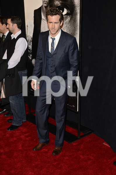 """""""Safe House"""" PremiereRyan Reynolds2-7-2012 / SVA Theater / Universal Pictures / New York NY / Photo by Eric Reichbaum - Image 24172_0250"""