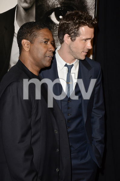 """Safe House"" PremiereDenzel Washington, Ryan Reynolds2-7-2012 / SVA Theater / Universal Pictures / New York NY / Photo by Eric Reichbaum - Image 24172_0305"