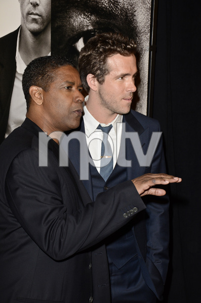 """Safe House"" PremiereDenzel Washington, Ryan Reynolds2-7-2012 / SVA Theater / Universal Pictures / New York NY / Photo by Eric Reichbaum - Image 24172_0307"