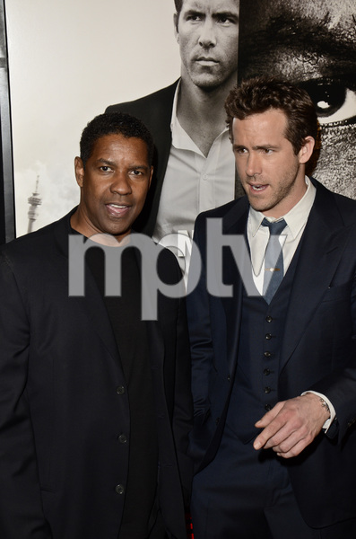 """Safe House"" PremiereDenzel Washington, Ryan Reynolds2-7-2012 / SVA Theater / Universal Pictures / New York NY / Photo by Eric Reichbaum - Image 24172_0330"