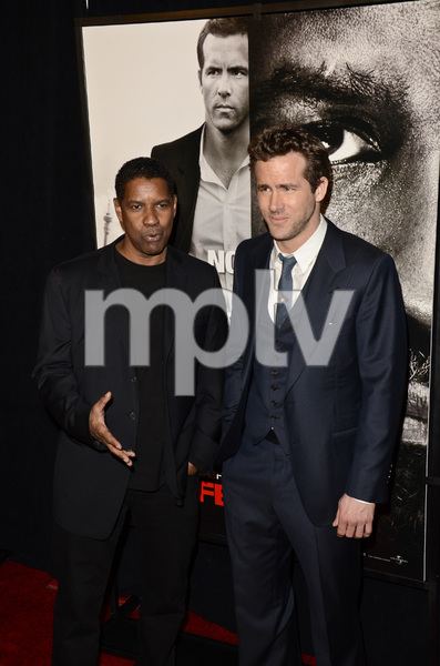 """Safe House"" PremiereDenzel Washington, Ryan Reynolds2-7-2012 / SVA Theater / Universal Pictures / New York NY / Photo by Eric Reichbaum - Image 24172_0349"
