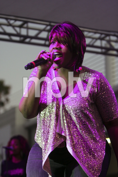 Kelly Price performing at the Baldwin Hills Crenshaw Mall in Los Angeles2011© 2011 Michael Jones - Image 24181_0001