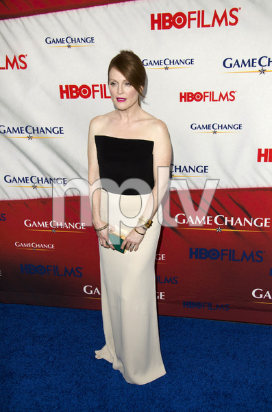 """Game Change"" PremiereJulianne Moore3-7-2012 / Ziegfeld Theater / HBO / New York NY / Photo by Eric Reichbaum - Image 24183_0101"
