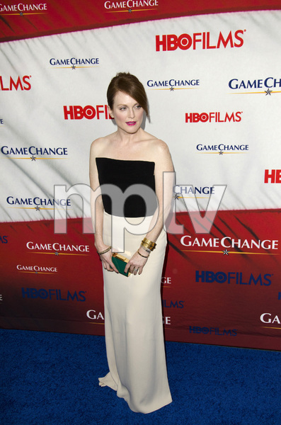 """Game Change"" PremiereJulianne Moore3-7-2012 / Ziegfeld Theater / HBO / New York NY / Photo by Eric Reichbaum - Image 24183_0106"